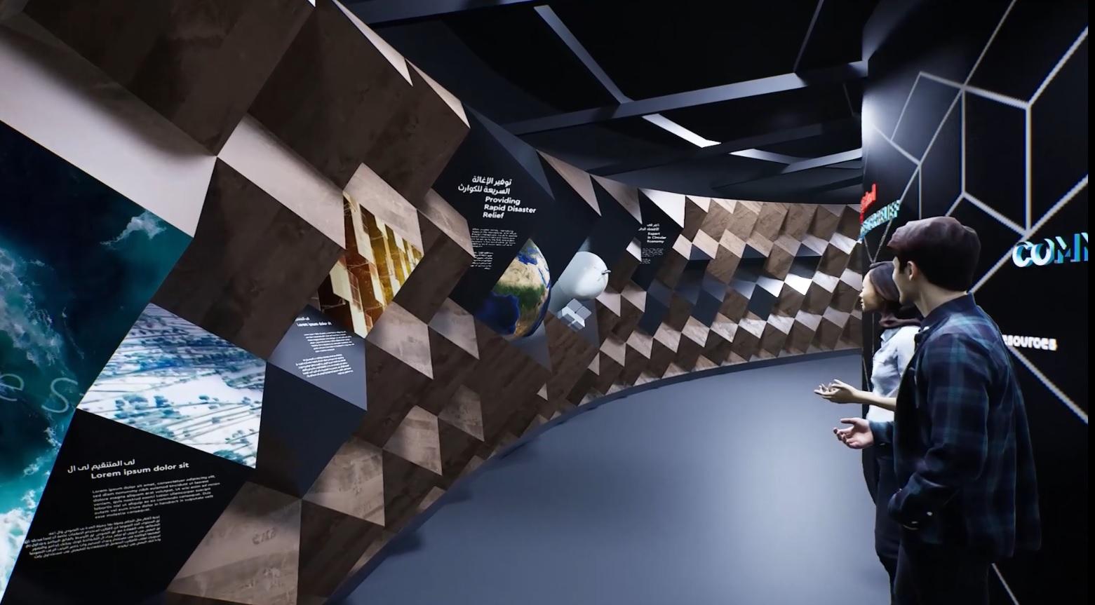 scenographie pavillon luxembourg